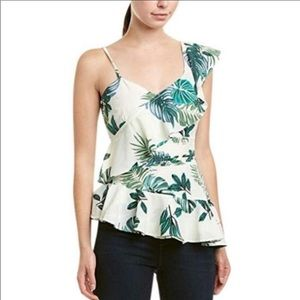 Walter Baker Izzy top palm butterfly top